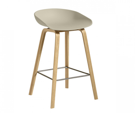 HAY About A Stool Pastel Green