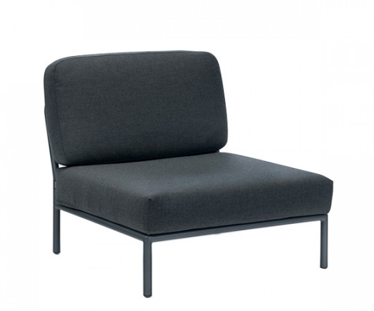 HOUE Level lounge - midtermodul - sooty grey
