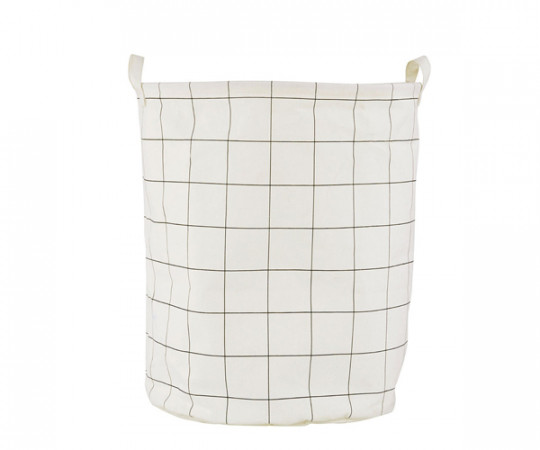 House Doctor Laundry Bag squares