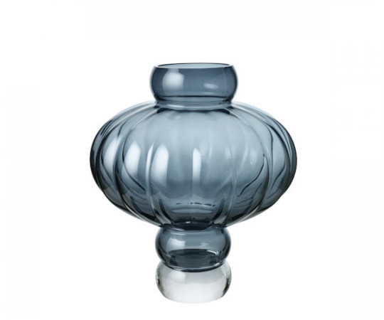 Louise Roe Balloon vase 03 blue
