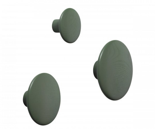 muuto the dots dusty green