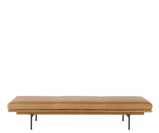 Muuto - Outline Daybed - Cognac Refine Leather