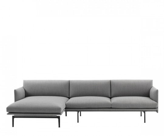 muuto outline sofa chaiselounge