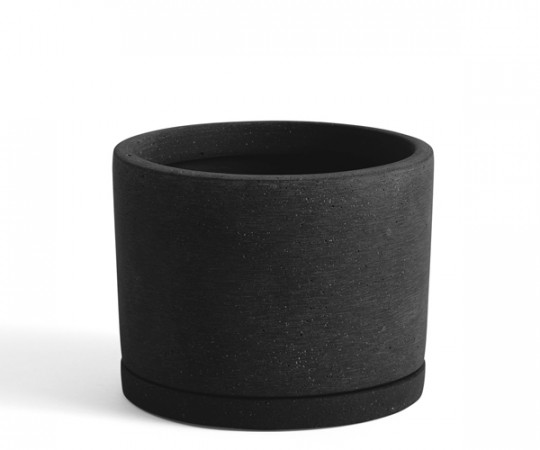 HAY Plant Pot With Saucer - L - Sort