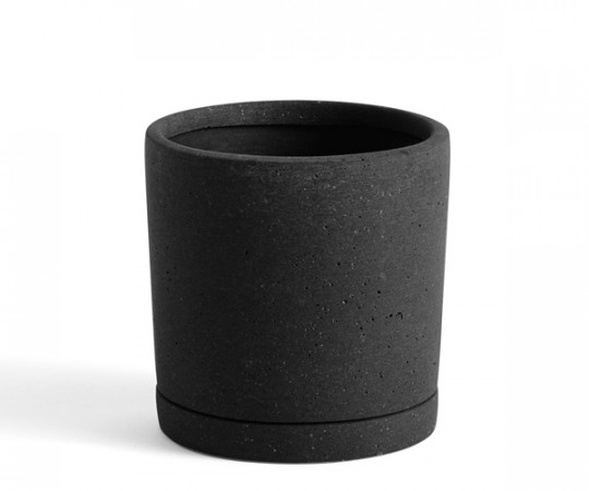 HAY Plant Pot With Saucer - M - Sort