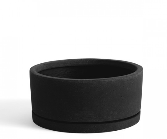 HAY Plant Pot With Saucer - XL - Sort