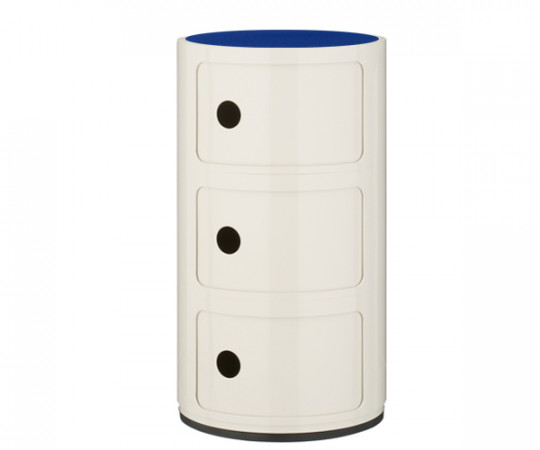 Kartell Componibili m. 3 Rum - inkl. Filttop