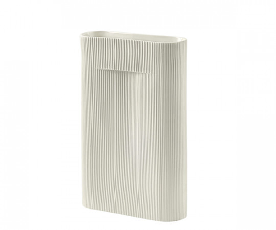 Muuto Ridge Vase - Off White - Large