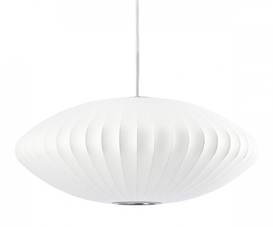 Herman Miller George Nelson bubble saucer lampe