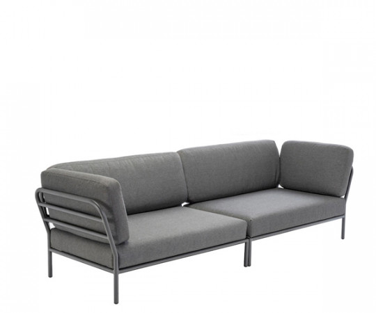 HOUE Level lounge sofa - 2 moduler - dark grey