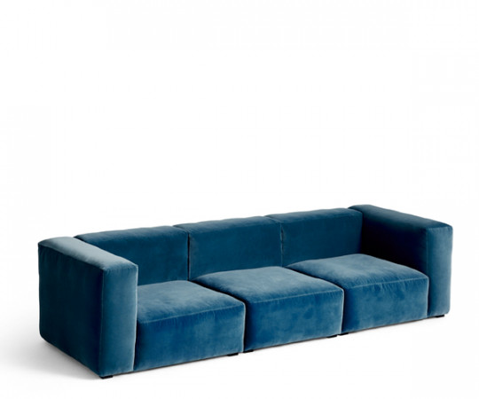 HAY Mags Soft Sofa (3 Pers.) Lola Velour Stof