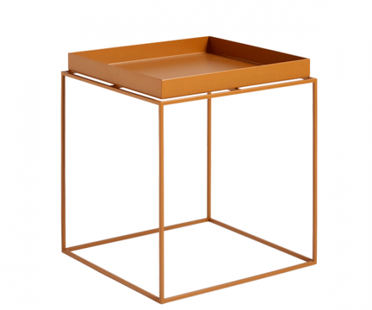 HAY Tray Table - 40x40cm - Toffee