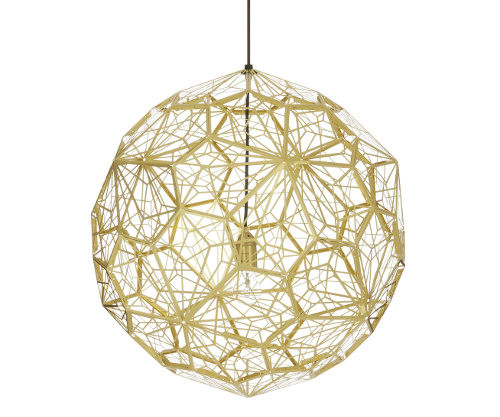 Tom Dixon Etch Light Web Brass