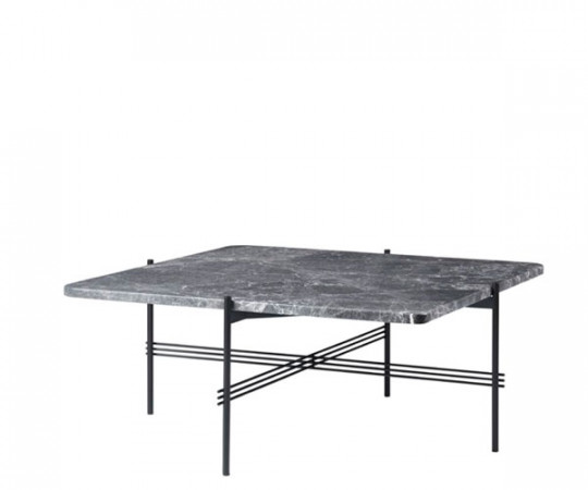 Gubi TS Coffee Table - Medium Square - Grå Marmor