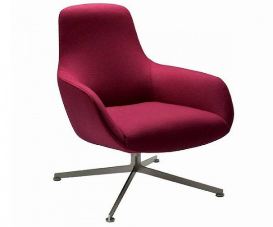 Zanotta Kent Lounge Chair Low