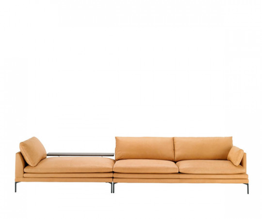 Zanotta William Sofa (Læder) - Modul Sammensat